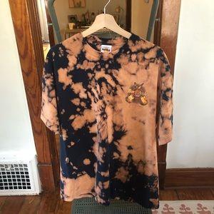 Vintage Hard Rock Cafe Bleach-Dyed T-Shirt